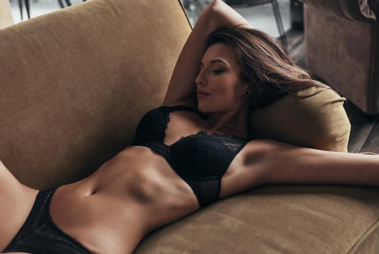 Take a nap with underwear